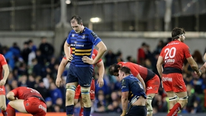 Disappointment for Devin Toner and Leinster