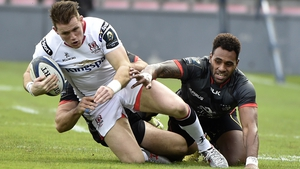 Craig Gilroy in action against Toulouse