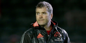 Munster head coach Anthony Foley has been frustrated by his teams' recent form