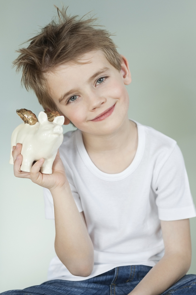 The Money Doctor advises kiddies to start saving from a young age