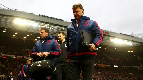 Louis van Gaal's position remains in jeopardy