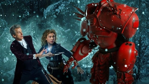 Peter Capaldi and Alex Kingston in Doctor Who