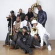 Hypnotic Brass Ensemble in session