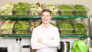 Chopped's Brian Lee, who is set to open six new outlets across Dublin and Co Kildare