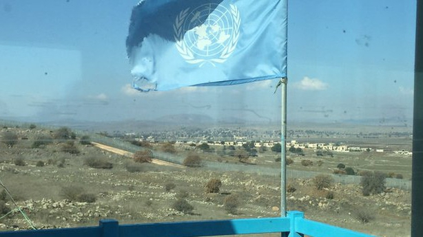 Golan Heights UN observation point