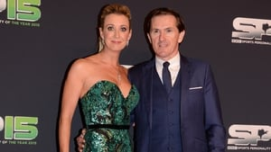 Tony with wife Chanelle get the red carpet treatment ahead of the BBC Sports Personality awards at the weekend