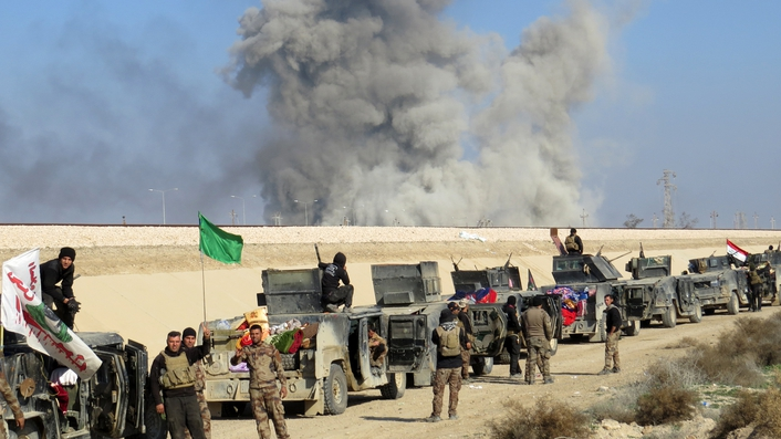 Iraqi troops close to liberating Ramadi from IS militants