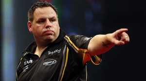 Adrian Lewis eased into the second round