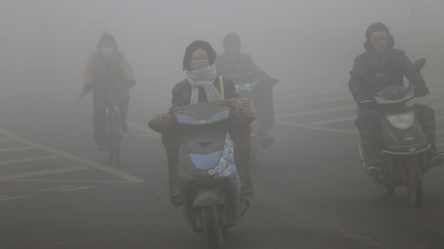 The Chinese government's war against winter smog has dented factory demand for raw materials