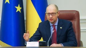 Arseniy Yatsenyuk says the sanctions are aimed at protecting Ukraine's domestic market