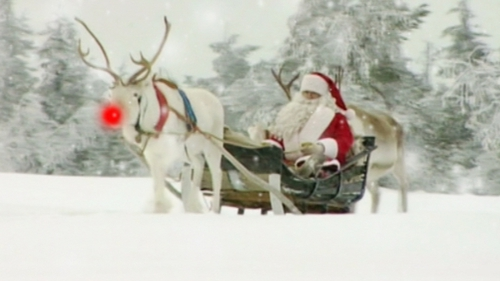 Everyone stay calm. Santa is on his way