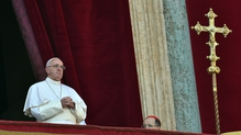 Pope Francis called for a 'dignified future' for migrants