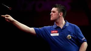 Daryl Gurney couldn't overcome world champion Gary Anderson