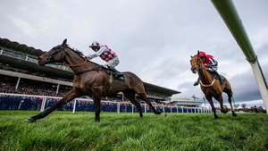 Andrew Lynch and Flemenstar winning at Leopardstown in 2015