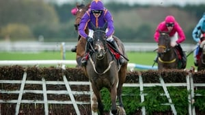 Arctic Fire looks set to go in the Betdaq Champion Hurdle at Punchestown