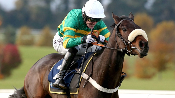 Minella Foru took the Paddy Power Chase at Leopardstown