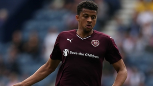 Osman Sow's 90th-minute strike earned Hearts a share of the spoils