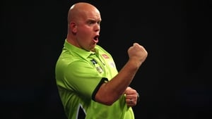 Darts world number one Michael van Gerwen