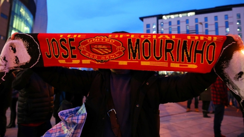 Jose Mourinho for Manchester United? Horrendous scarf aside, it looks more and more likely