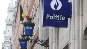 The man was arrested during a search of a house in Brussels yesterday