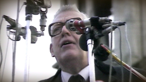 The views of senior government figures of Ian Paisley are revealed in the State Papers