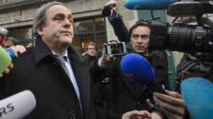 Platini was handed an eight-year ban from the game by FIFA's Ethics Committee
