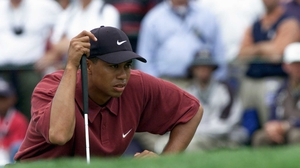 Tiger Woods is still some distance away from a comeback