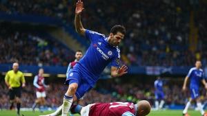 Cesc Fabregas is set to finish out the season at Stamford Bridge
