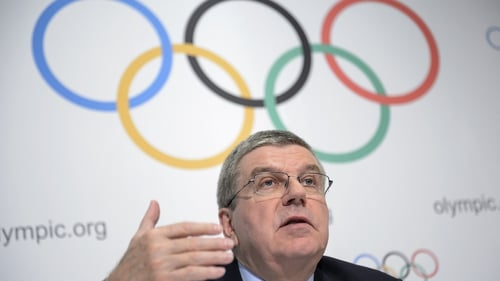 IOC president Thomas Bach said some of the information did not go into specifics