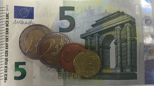 A 10 cent hike would equate to a pay rise of 1.09% - and is significantly lower than the last increase of 50 cent per hour - which raised the minimum wage from €8.65 to €9.15