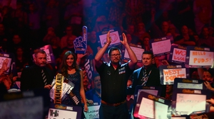 Wade had no trouble in his world darts first round match against Ronny Huybrechts