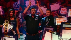James Wade is coached by former world champion Eric Bristow
