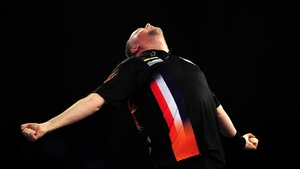 Raymond van Barneveld averaged 99.44 in his win over Michael Smith