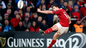 Ian Keatley in among the replacements for Munster