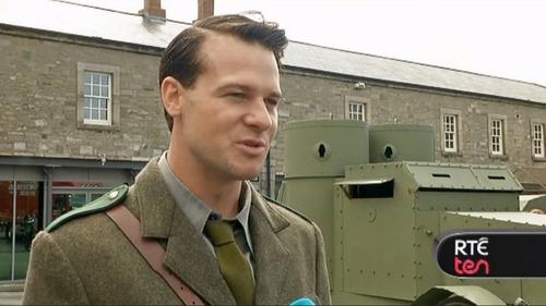 Cork actor Sebastian Thommen plays Michael Collins in Rebellion