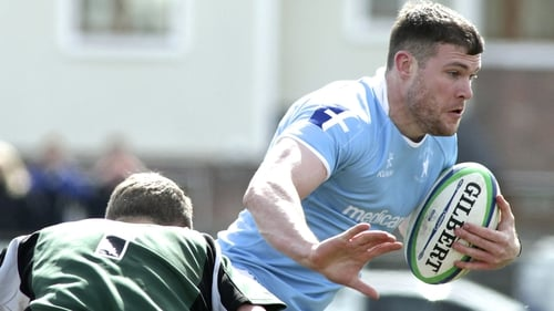 James McInerney got the all-important try for Garryowen