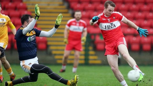 Liam McGoldrick goal for Derry