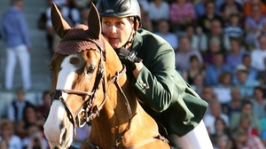 Billy Twomey got Ireland off to a winning start at the Dublin Horse Show