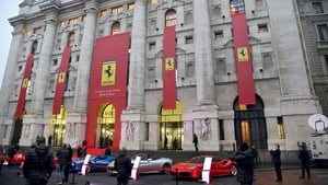 Ferrari said shipments were starting to recover after production was suspended earlier this year due to the coronavirus epidemic