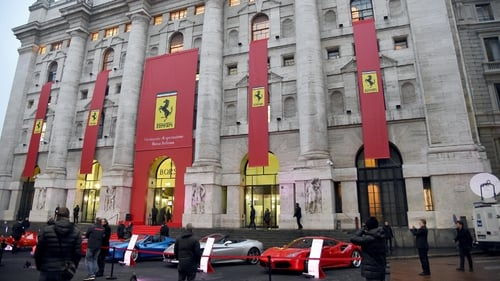 Ferrari, the luxury sports car maker famed for its roaring combustion engines, retooling its range for an electric era