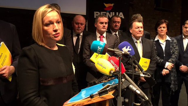 Lucinda Creighton said Renua's aim is to simplify tax system and reduce number of tax rates