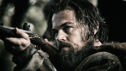 DiCaprio takes steady aim at an Oscar