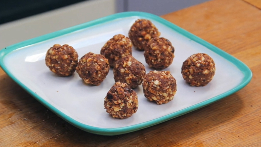 Chocolate Hazelnut Protein Balls   Indy Power