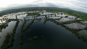 Flooding at Cloonlara, Co Clare last year