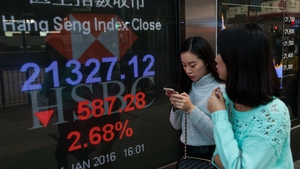 The Chinese market did find its footing after a deep plunge early in 2016