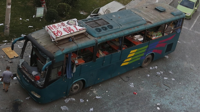 There have been several attacks on buses in China in recent years