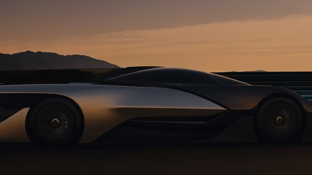 The 1,000 horsepower vehicle can do 0-60mph in three seconds and can reach a top speed of over 200mph
