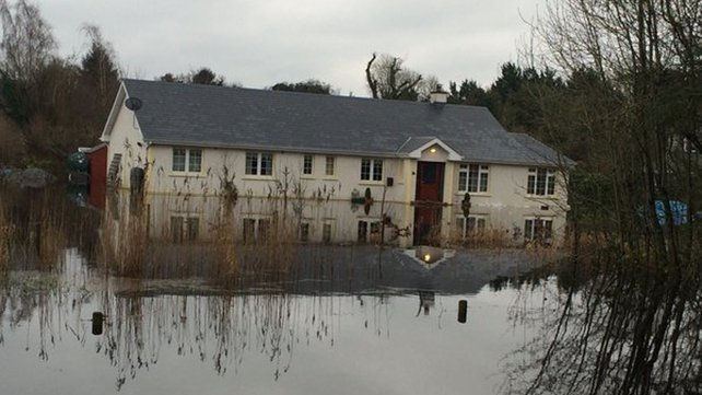 House flooded in south Roscommon