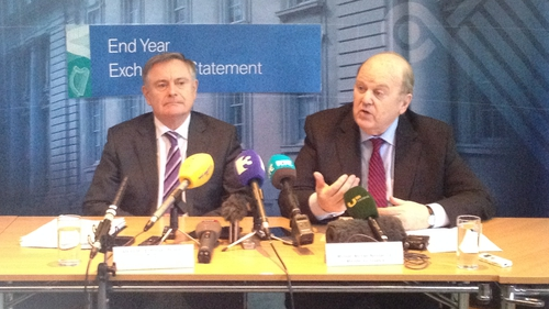 Michael said it is encouraging that there were strong performances from income tax and VAT in the figures