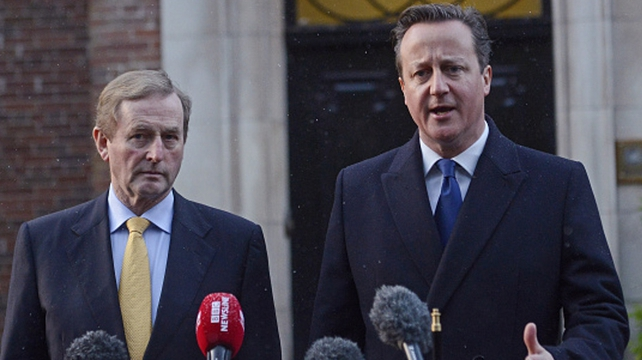 The meeting is part of David Cameron's negotiations across Europe on EU reform